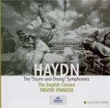 The 'Sturm und Drang' Symphonies