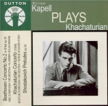 William Kapell plays Khatchaturian