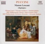 PUCCINI - Rahbari - Manon Lescaut : extraits