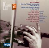 BEETHOVEN - Kagan - Duo pour alto et violoncelle WoO 32