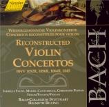 Reconstructed Violin Concertos Vol.138
