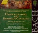 Congratulatory and Hommage Cantatas Vol.139