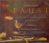 GOUNOD - Benzi - Faust (live Amsterdam, 28 - 10 - 1972) live Amsterdam, 28 - 10 - 1972