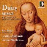 DUFAY - Boeke - Missa 'Resvellies vous'
