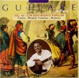 Guitare plus Vol.40 ('Con sentimiento popular')