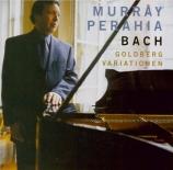 BACH - Perahia - Variations Goldberg BWV 988