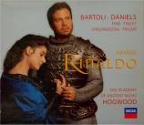 HAENDEL - Hogwood - Rinaldo, opéra en 3 actes HWV.7