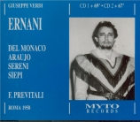 VERDI - Previtali - Live Roma 16 - 9 - 1958 Live Roma 16 - 9 - 1958