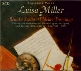 VERDI - Levine - Luisa Miller, opéra en trois actes (live MET 27 - 1 - 1979) live MET 27 - 1 - 1979