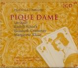 TCHAIKOVSKY - Rother - La Dame de Pique op.68 (abrégé en allemand) abrégé en allemand