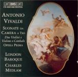 VIVALDI - London Baroque - Sonate pour cordes et b.c. en mi bémol majeur