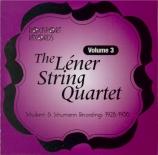The Léner String Quartet Volume 3