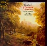VANHAL - Francis - Quatuors (6) avec hautbois op.7