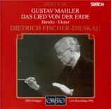 MAHLER - Fischer-Dieskau - Das Lied von der Erde (Le chant de la terre)