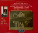 MONTEVERDI - Tate - Il ritorno d'Ulisse in patria (Arrangement de Henze) Arrangement de Henze