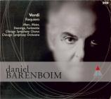 VERDI - Barenboim - Messa da requiem, pour quatre voix solo, choeur, et o
