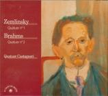 ZEMLINSKY - Quatuor Castagn - Quatuor à cordes n°1 op.4