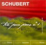 SCHUBERT - Stern - Trio avec piano n°1 en si bémol majeur op.99 D.898 CD catalogue