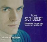 SCHUBERT - Tharaud - Six moments musicaux, pour piano op.94 D.780