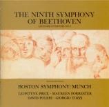 BEETHOVEN - Munch - Symphonie n°9 op.125 'Ode à la joie' (Import Japon) Import Japon