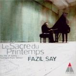 STRAVINSKY - Say - Le sacre du printemps :, réduction pour deux pianos (
