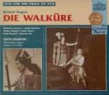 WAGNER - Leinsdorf - Die Walküre (La Walkyrie) WWV.86b Live MET 17 - 02 - 1940