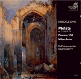 MENDELSSOHN-BARTHOLDY - Creed - Psaume 100, pour quatre voix mixtes a ca