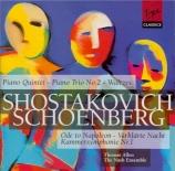 SCHOENBERG - Nash Ensemble - Symphonie de chambre n°1 op.9