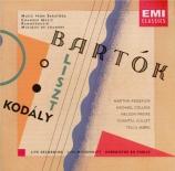 BARTOK - Argerich - Contrastes, pour violon, clarinette et piano Sz.111