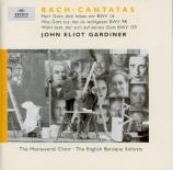 BACH - Gardiner - Was Gott tut, das ist wohlgetan, cantate pour solistes
