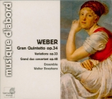 WEBER - Walter Boeykens - Quintette avec clarinette en si bémol majeur o