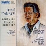 Oeuvres pour orchestre de chambre