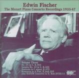 The Mozart Piano Concerto Recordings Vol.3