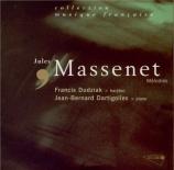 MASSENET - Dudziak - Mélodies