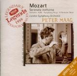 MOZART - Maag - Sérénade n°8, pour quatre orchestres en ré majeur K.286
