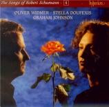 The Songs of Robert Schumann Vol.4