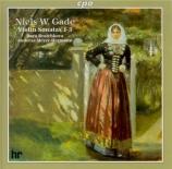 GADE - Bratchkova - Sonate pour violon et piano n°1 op.6