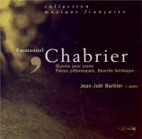 CHABRIER - Barbier - Dix pièces pittoresques