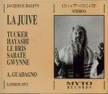 HALEVY - Guadagno - La juive (Live London, 4 - 3 - 1973) Live London, 4 - 3 - 1973