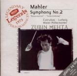 MAHLER - Mehta - Symphonie n°2 'Résurrection'