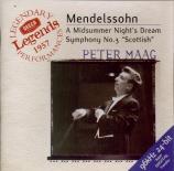 MENDELSSOHN-BARTHOLDY - Maag - Ein Sommernachtstraum (Le songe d'une nui