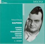 STRAUSS - Gruber - Daphné, opéra op.82 (Live Hamburg 1949) Live Hamburg 1949