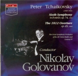 TCHAIKOVSKY - Golovanov - Symphonie n°6 en si mineur op.74 'Pathétique'