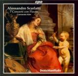 SCARLATTI - Camerata Köln - Sept sonates pour flûte, violon, viole et ba