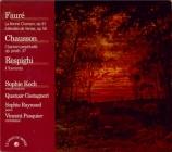 FAURE - Koch - La bonne chanson (Verlaine), cycle de mélodies pour voix