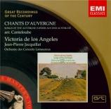 CANTELOUBE DE MALARET - De los Angeles - Chants d'Auvergne : sélection