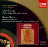 JANACEK - Rattle - Sinfonietta pour orchestre op.60