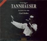 WAGNER - Melles - Tannhäuser WWV.70 (Live Bayreuth 1966) Live Bayreuth 1966