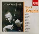 Les introuvables de Yehudi Menuhin