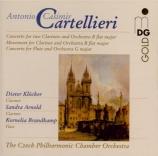CARTELLIERI - Klöcker - Concerto pour deux clarinettes